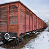 Covered Freight Wagon Class EE