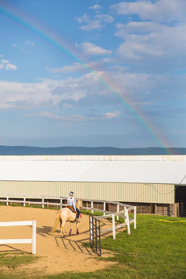 Equestrian's Rainbow