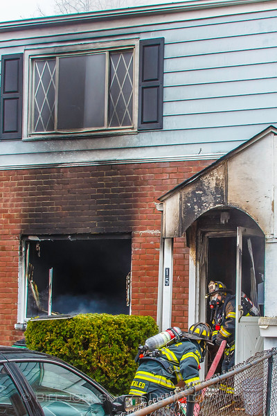 Structure Fire - 15 South Gilmore Blvd. - Village Of Wappingers Fire Department. 4/7/15