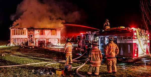 Structure Fire - 42 Bennett Rd. - Fairview Fire District - 4/14/14