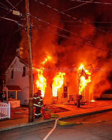 Structure Fire - Village of Wappingers FD - 35 Downey Ave - 3/24/13