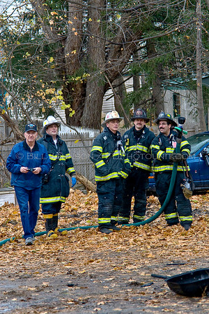 Structure Fire - #50 Worral Ave. - City of Poughkeepsie Fire Department - 11/29/07