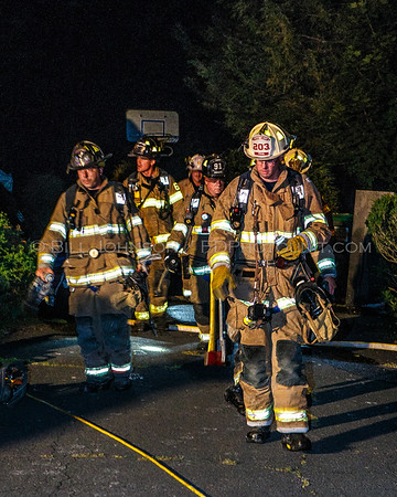Structure Fire - 79 Susan Drive - Middle Hope Fire District -7/29/15