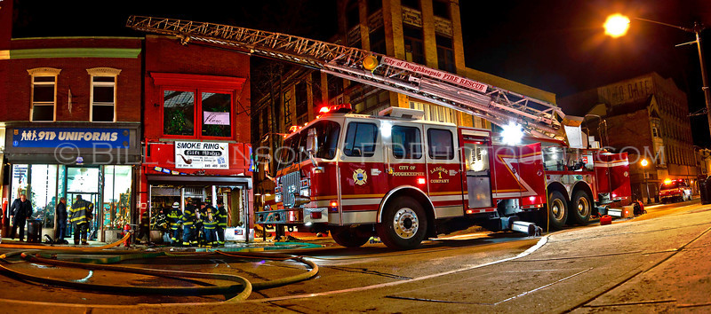 Structure Fire - City of Poughkeepsie Fire Department - 298 Main Street - 2/25/09