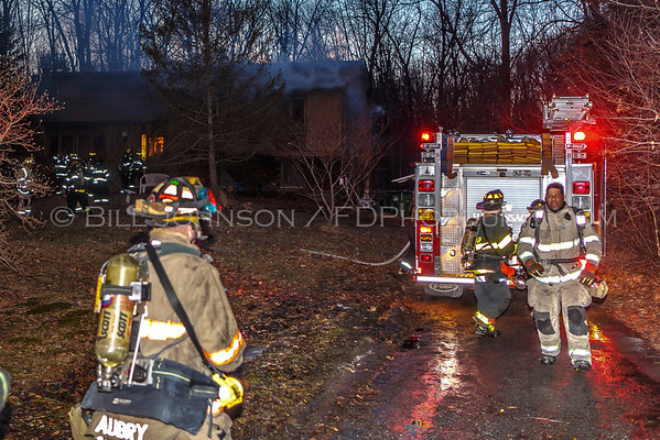 Structure Fire - Hackensack Heights - New Hackensack Fire District 3/31/14