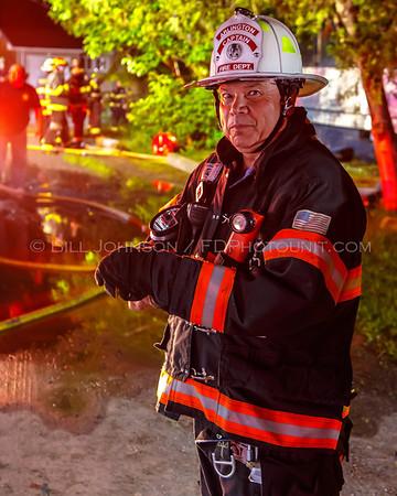 Structure Fire - The former Heidelberg Restaurant - 2024 Rte 44 - Pleasant Valley Fire District