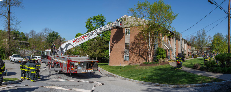 Structure Fire - Hudson View Apartments - Chelsea Fire District 5/11/14