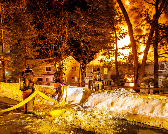 Structure Fire - Kaal Rock Apartments - City of Poughkeepsie Fire Department