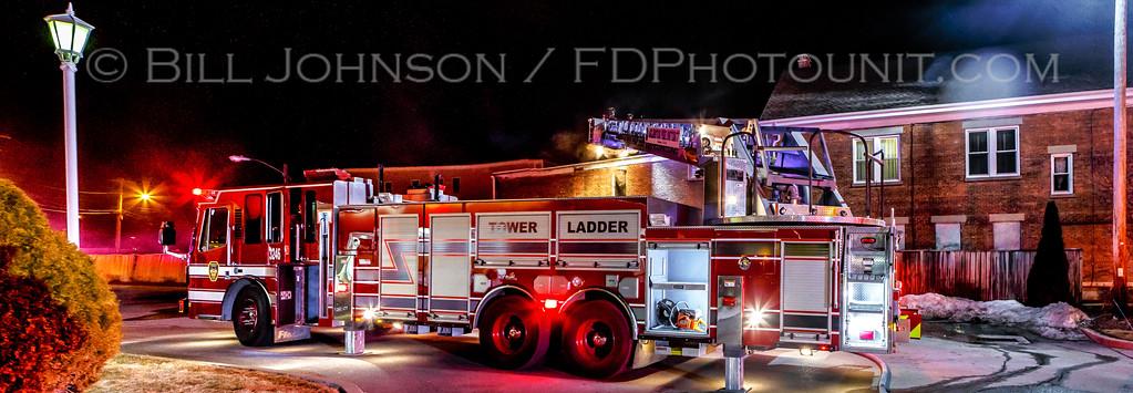 Structure Fire - 759 Main St. - Arlington Fire District - 3/29/15