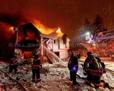 Structure Fire -  8 Marple Rd. - Arlington Fire District -2/08/13