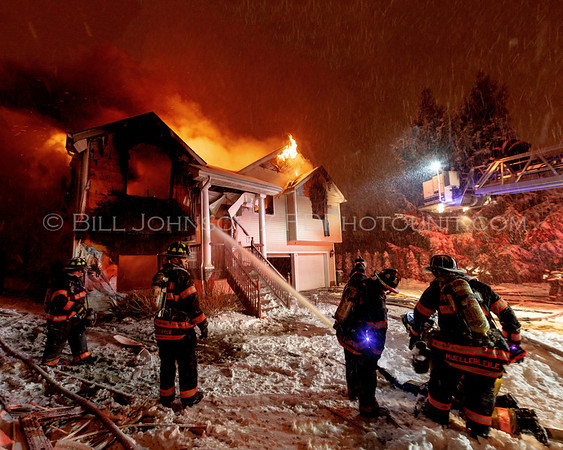 Structure Fire -  6 Marple Rd. - Arlington Fire District