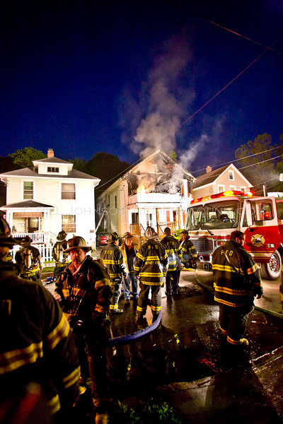 Structure Fire  - North White Street - City of Poughkeepsie F.D. 6/6/08
