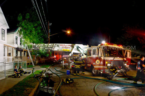 Structure Fire - City of Poughkeepsie Fire Department - #1 Harrison Street - 8/9/11