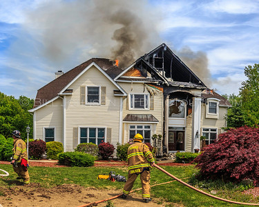 Structure Fire - Reggies Way - La Grange Fire District - 5/24/15