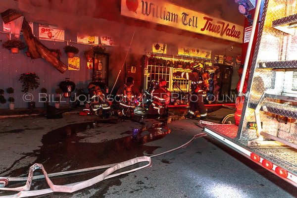 Structure Fire - William Tell Hardware - East Fishkill Fire District - 5/23/15