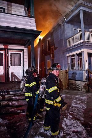 Strucure Fire - City of Poughkeepsie Fire Department - 17 Gray Street - 02/01/09