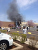 Fire damages the front of the Kohl's Department Store off Township Line Road in Limerick Friday, April 25, 2014. (Photo Maria Cioci)