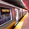 New Orange Line train. Stony Brook Station. November 7, 2019.