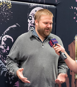 "Robert Kirkman- Creator of the ""Walking Dead"""