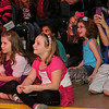 Young fans listen as the Swon Brothers perform at the Beyond Bell Ringing Benefit at the Muskogee Civic Center on Thursday night to an audience of approximately 1,000.