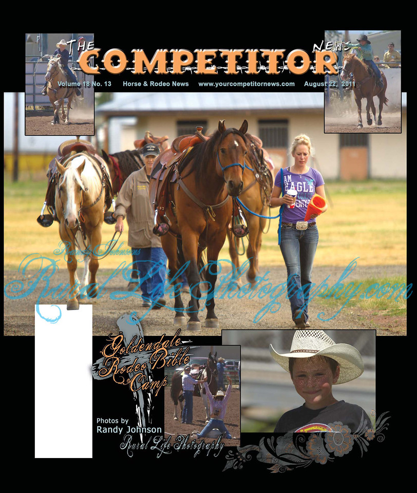 I Shot this Cover shot at Goldendale Rodeo Bible Camp 2011