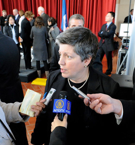 Janet Napolitano, Homeland Security Secretary 2009 – 2013
