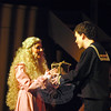 Kayla O'Leary, left, will play the role of Johanna Barker and Donny Morrissey will play Anthony Hope in the Newtown High School's Drama Club production the school version of Stephen Sondheim's Sweeney Todd set for showings this weekend, Thursday through Sunday, March 15-18. —Bee Photo, Hallabeck
