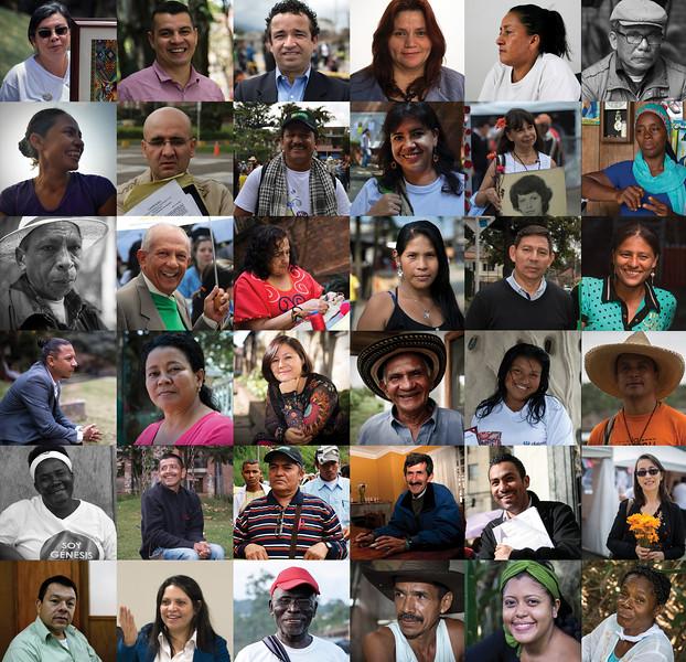 Estos son algunos de los rostros de las personas valientes, quienes siguen defendiendo la vida y el territorio. Su resistencia y amor por su tierra son una inspiración y una fuente de motivación para seguir en la lucha a pesar de las dificultades.