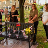"""McNeill family friend, Kim Bydlon, performs a rendition of """"Danny Boy"""", while Jeanne, Kathleen, Shannon and Kenzie have good thoughts about Dan."""