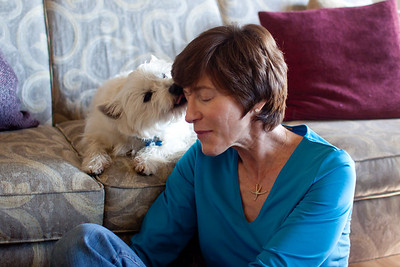 """""""When we adopted Toby I thought we would change his life--but he changed ours.  Love heals.  Let's spread it around""""."""