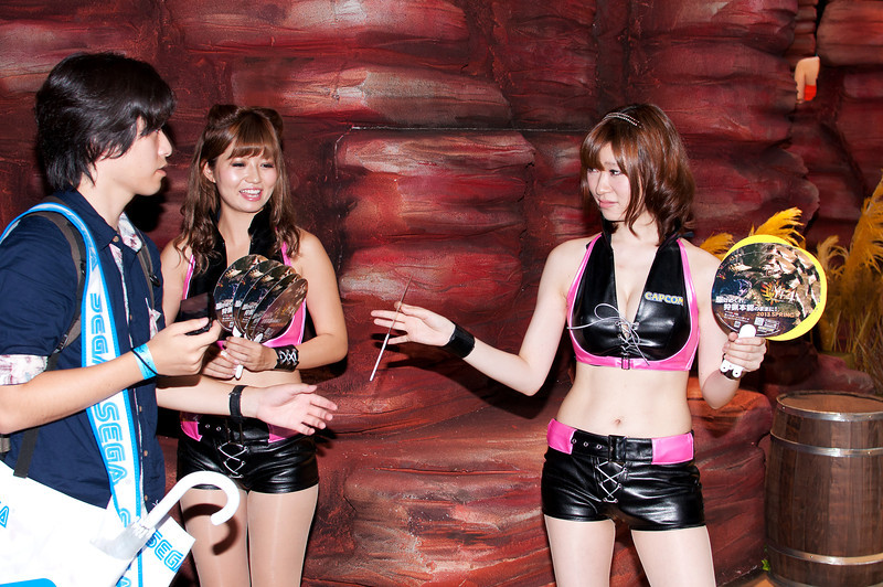 Capcom girls.