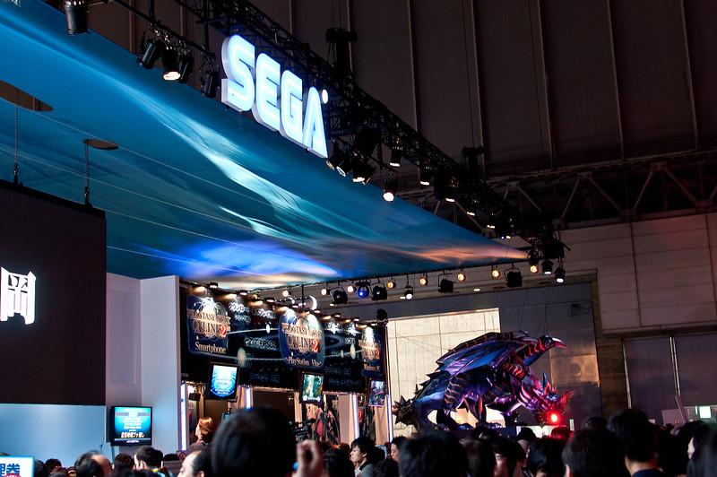 Sega's stand