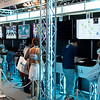Experia stand - place to try latests Experia's tablets.