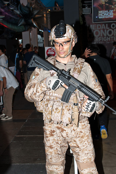 Warfighter (at Electronic Arts stand)