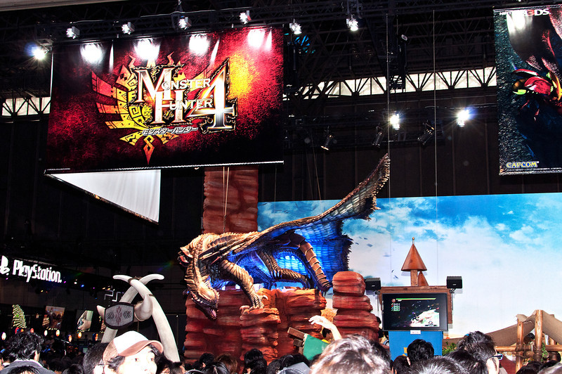 Capcom and Monster Hunter 4