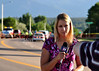 KKTV 11 News Reporter, Kendra Potter, on the scene of a traffic accident at Austin Bluffs Parkway and Silver Drive, giving live report coverage about the situation.