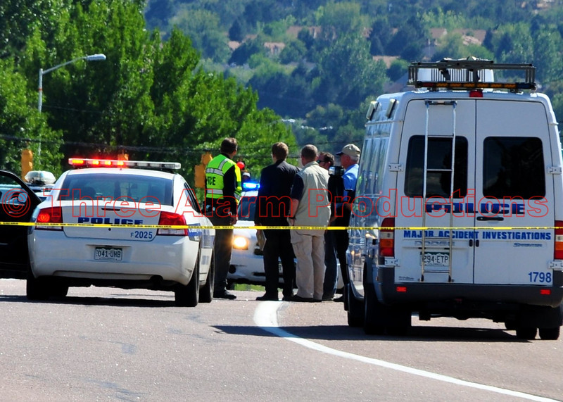 "Colorado Springs Major Accident Investigators on scene.<br /> See this on Google Maps at: <a href=""http://goo.gl/maps/pnZd"">http://goo.gl/maps/pnZd</a>"