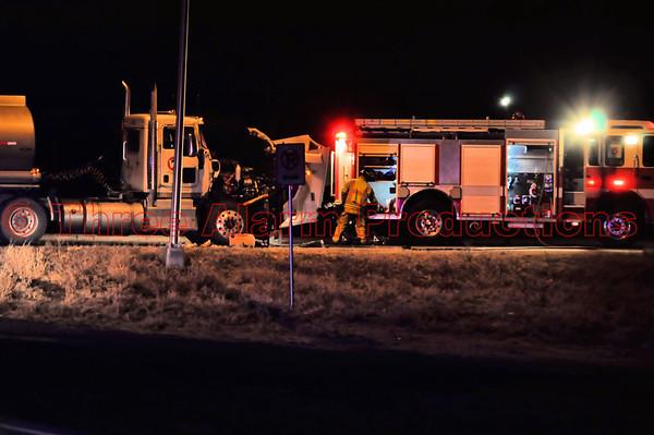 Gasoline tanker accident