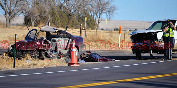 Major Traffic Accident HWY 94-Ellicott CO