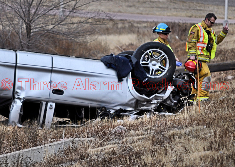 This vehicle remained stable upside down, and did not need additional stabilization for patient care.