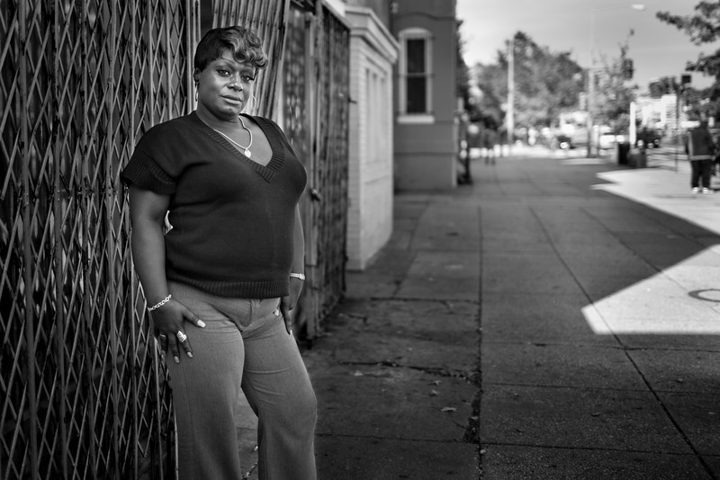 Debbie MacMillan is one of Xion's bosses at work. Debbie is completing her BSW at UDC and is recovering from an addiction to crack cocaine, having remained clean now for 4 years. Debbie has been living as a trans woman in DC for close to 20 years, and says that she has in the past endured violent assaults -- at one point having been raped at gunpoint while turning tricks on the street.
