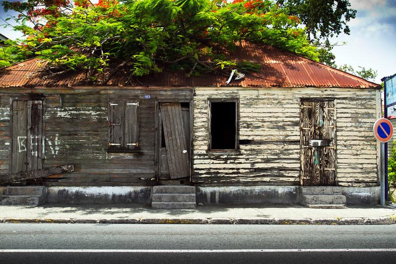 Marigot. Abandoned.