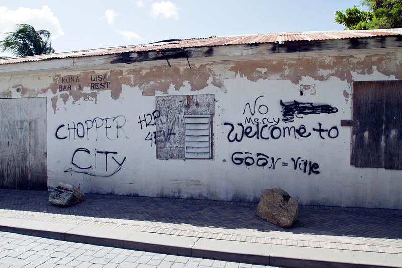 Gang Art in Phillipsburg, SXM