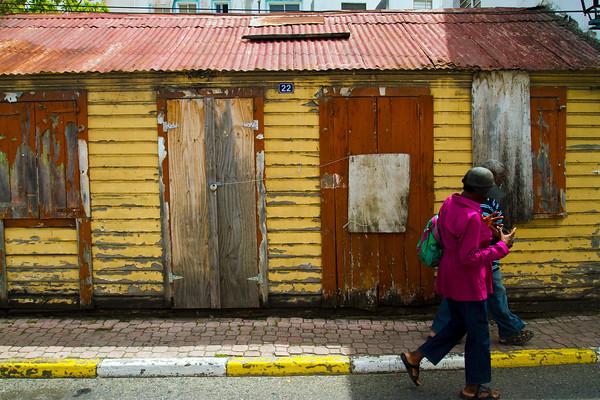 Abandoned in Marigot, Sint Martin