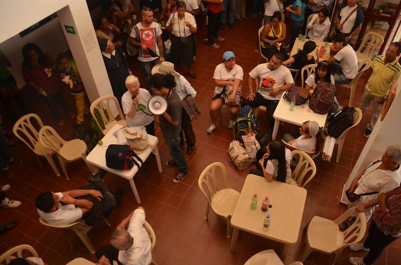 La Hermana Maritze Trigos, ultima los preparativos para el día del acto de perdón público, que la Cidh ha exhortado a llevar a cabo al Estado colombiano dentro de este acuerdo amistoso.