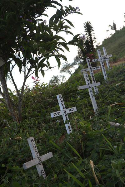 En este agosto de 2012 las comunidades recordaron a las 342 víctimas de la masacre. La mayoría fueron hombres; pero también hubo mujeres. La lideresa indígena y enfermera Esther Cayapú fue una de las víctimas; sus victimarios la acusaron de curar a miembros de la guerrilla. De su comunidad, La Sonora, asesinaron a 11 campesinos.