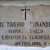 El Padre Tiberio era una autoridad moral y una persona muy querida en Trujillo. Se esforzó por promover y organizar cooperativas campesinas para mejorar la calidad de vida de las personas mediante la integración comunitaria. El Padre Tiberio fue secuestrado y su cadáver apareció en el río Cauca después de haber sido torturado y descuartizado.