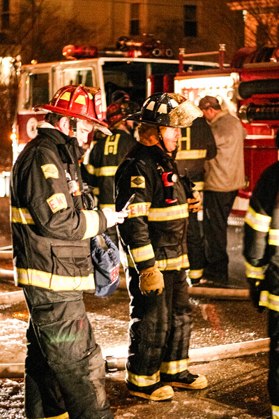 Two-alarm fire at 27 5th Ave. in Haverhill, MA (01/04/2006)