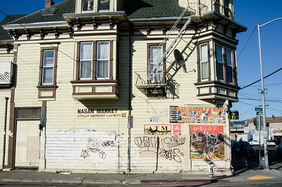"""Fresh Sandwiches, Fresh Meats"" promises a storefront at a West Oakland neighborhood market"