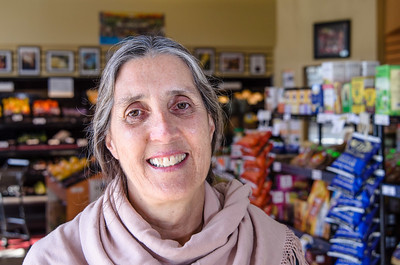 Dana Harvey, Executive Director of Mandela Marketplace, in the co-op's store in West Oakland: http://www.mandelamarketplace.org/Staff.html